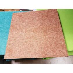 Gekleurd poly bruin 60x60