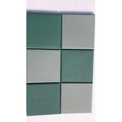 Collage groen paneel 6 stuks