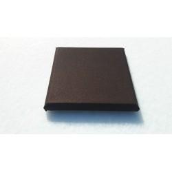 Akoepaneel doek 25x25 cm bruin